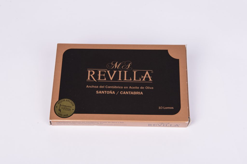 Acciughe Revilla black 140