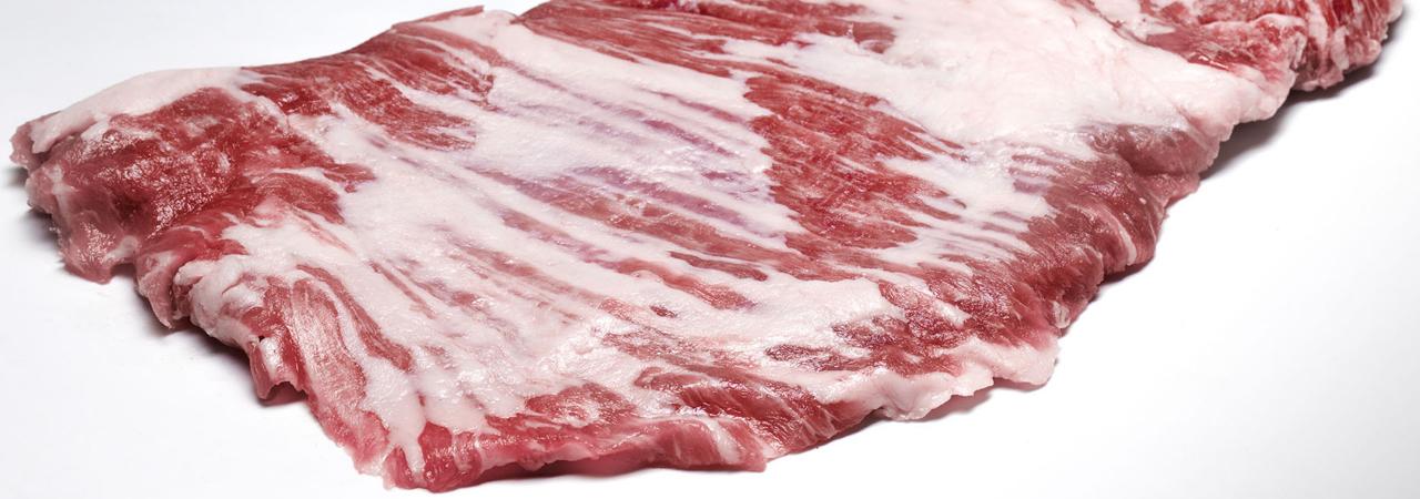 carne suino secreto
